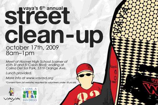 VAYA 6th Annual Street Clean-Up