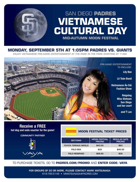 VAYA Cultural Day at Petco Park