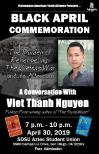 Black April Commemoration: A Conversation with Viet Thanh Nguyen